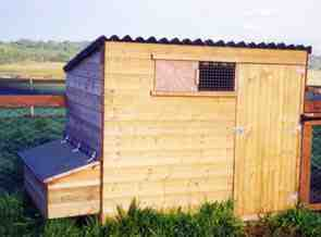 hen houses coops hen hut duck kintaline farm croft argyll