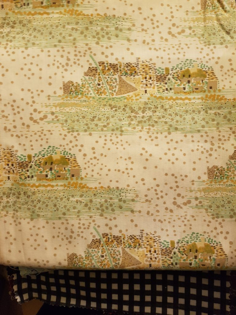 browns greens landscape dots beeswax wraps