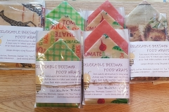 Large Single & double Beeswax Wraps